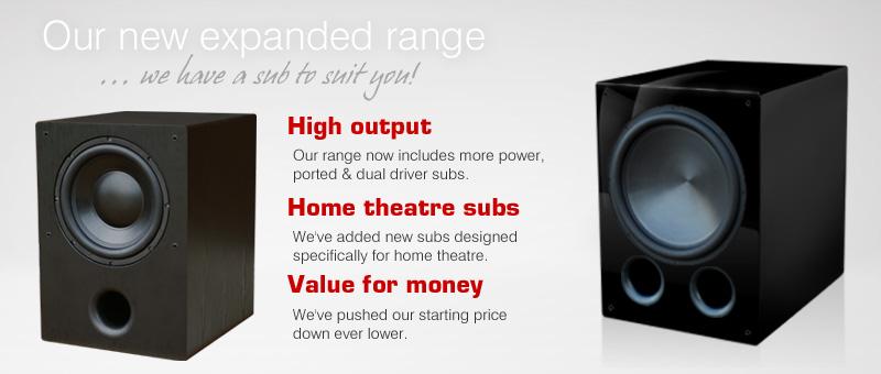 Rythmik Audio • Direct Servo subwoofer products